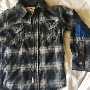 Kid's Plaid Flannel Shirt